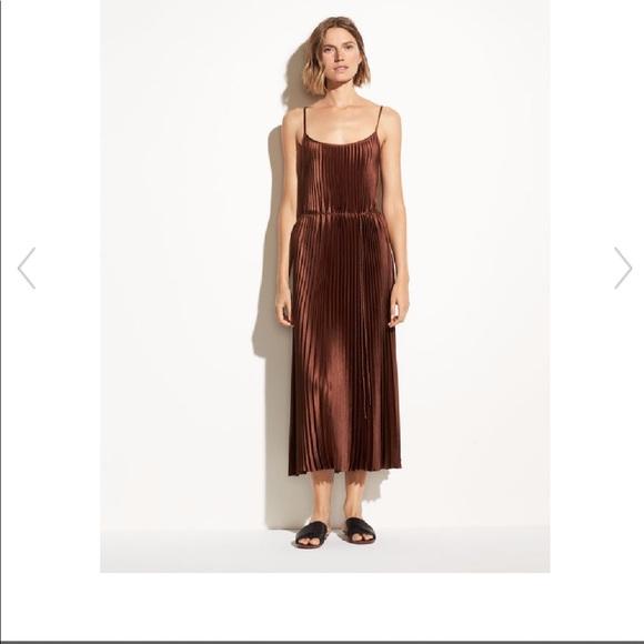 Vince Dresses & Skirts - VINCE Pleated Cami Dress